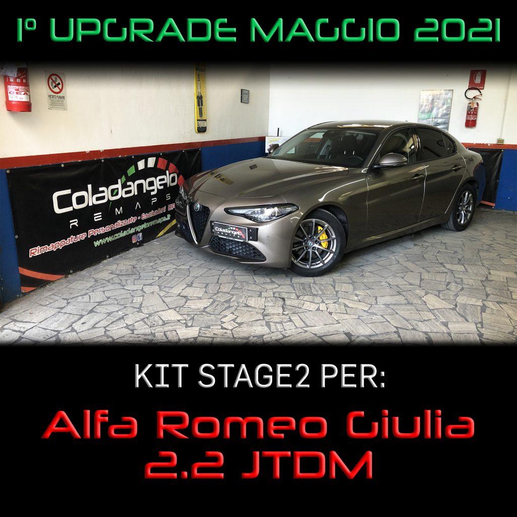 KIT STAGE2 per Alfa Romeo Giulia 2.2 JTDM